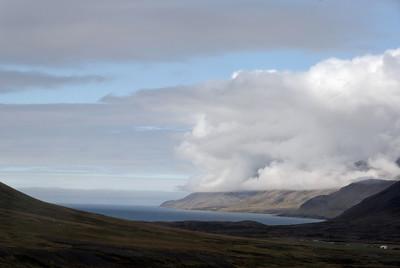 West Fjords - View towards Dyrafjordur fjord