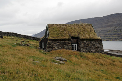 West Fjords - Abandoned farm house - Up to 20(!) people used to live in this house
