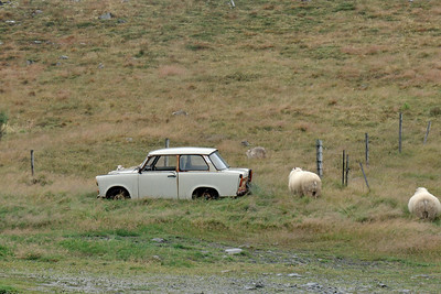 """West Fjords - Another wreck (East German """"Trabant"""")"""