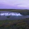 Faxi waterfall dusk