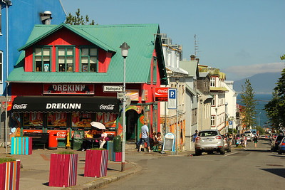 Colorful, quaint Reykjavík