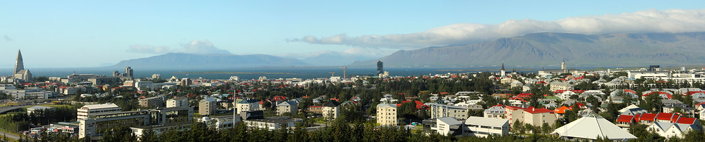 Reykjavík - the capital and largest city in Iceland