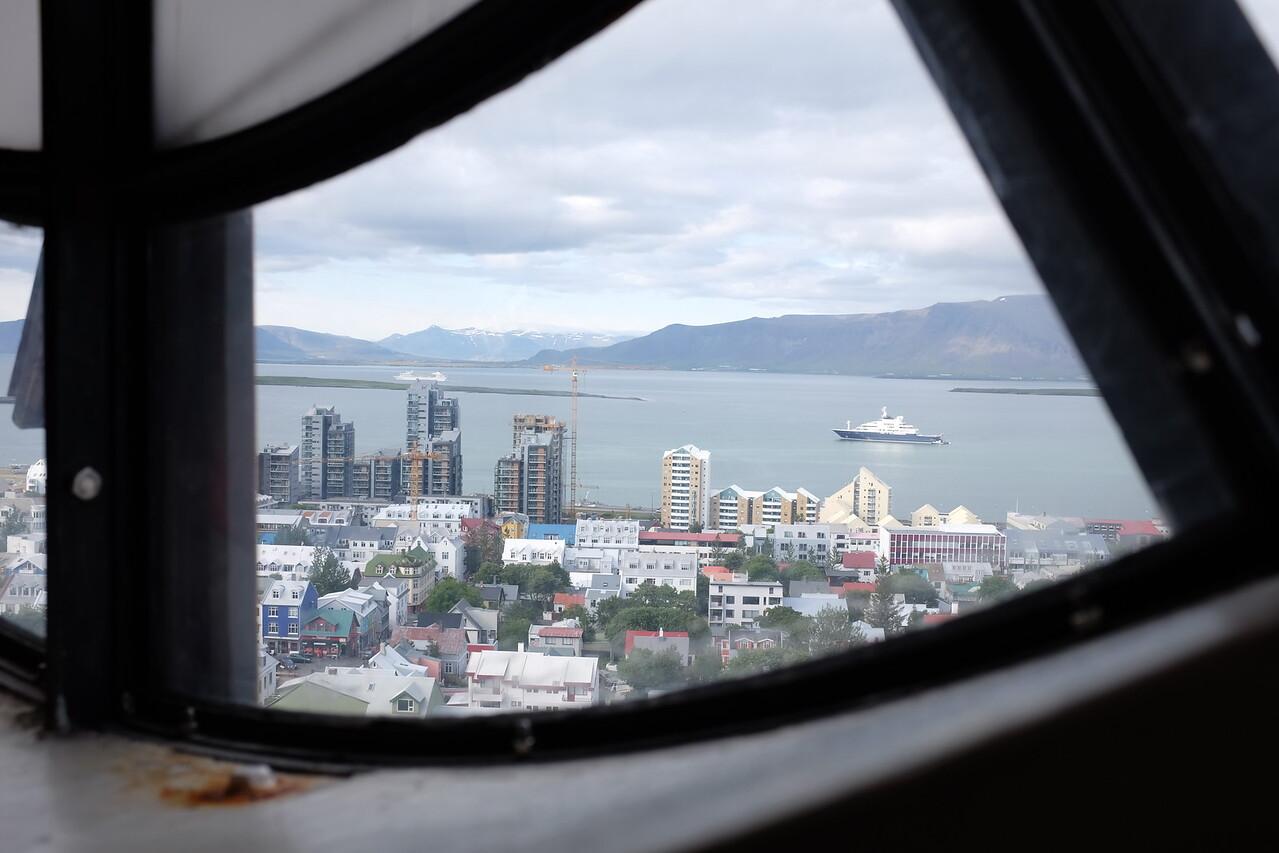 View from Hallgrímskirjka, Reykjavik