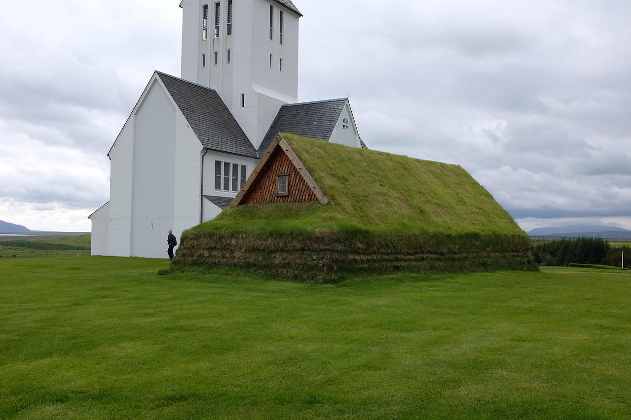 Skálholt chapel and church