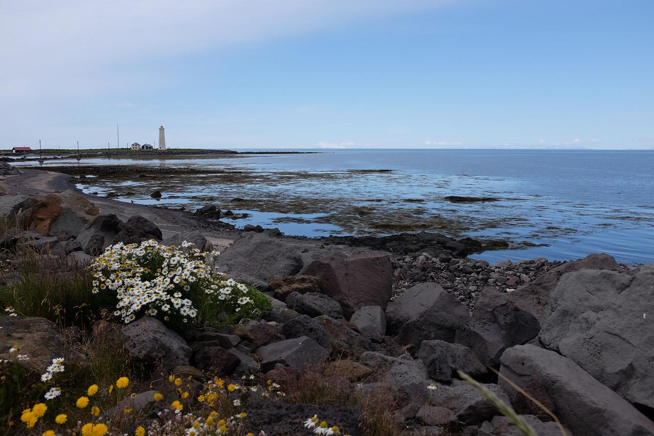Lighthouse, Seltjarnarnes peninsula, Reykjavik