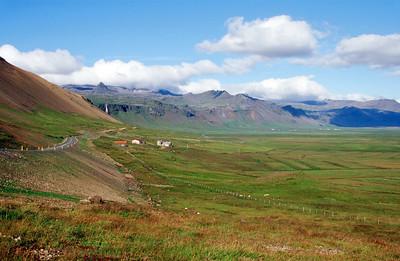 Coastal plain in the Budir region