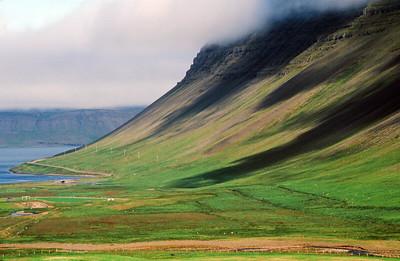 Arnarfjordur cliffs, Bildudalur region