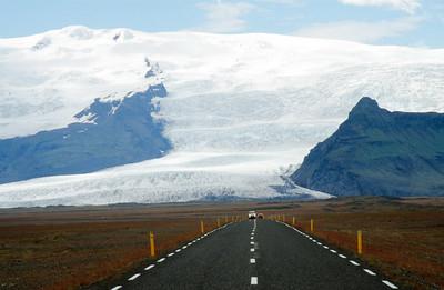 Ring road near Skaftafell National Park
