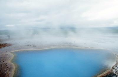 Geysir thermal area, Biskupstungur region