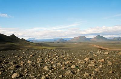 Myvatnsoraefi, region east of Myvatn