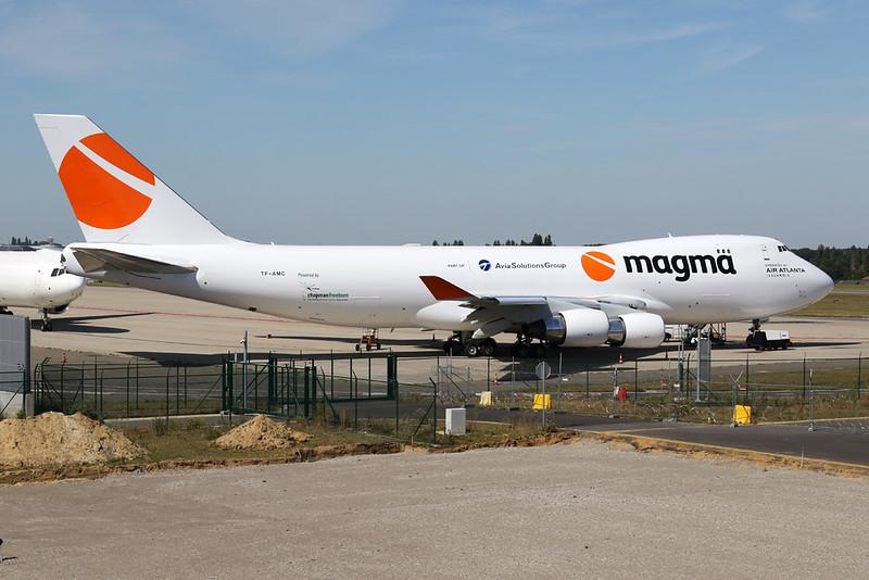 "TF-AMC Boeing 747-412F ""Air Atlanta Icelandic"" c/n 26563 Liege/EBLG/LGG 30-07-20 ""Magma"""