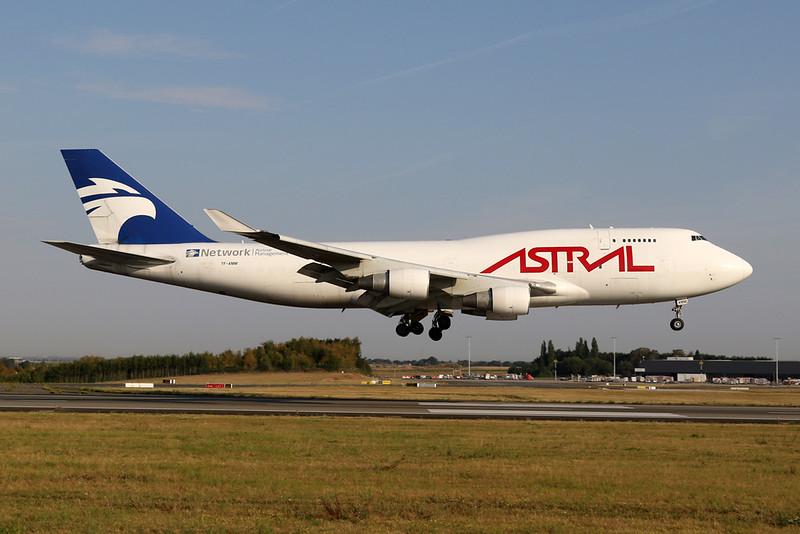 "TF-AMM Boeing 747-4H6BDSF c/n 25700 Liege/EBLG/LGG 10-08-20 ""Astral Cargo"""