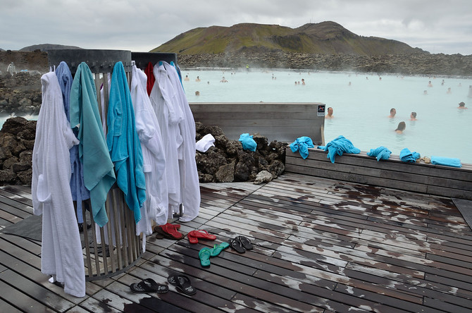 Blue Lagoon bathrobes