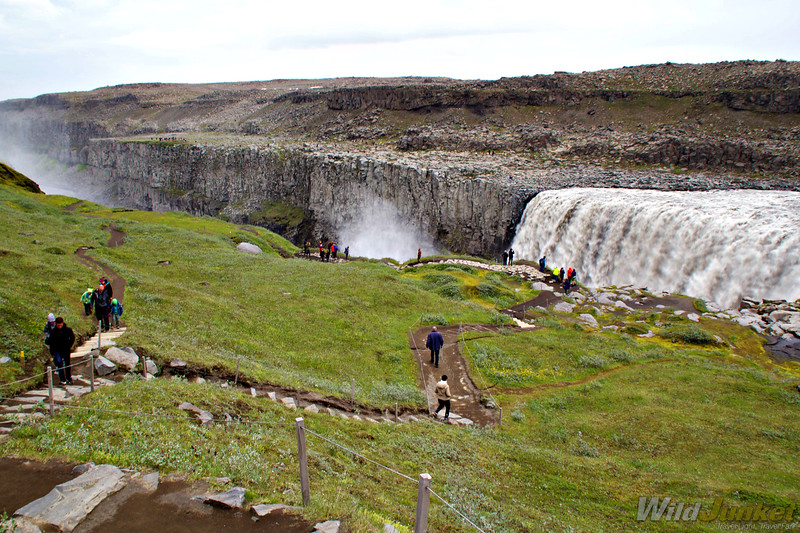 iceland ring road itinerary - dettifoss