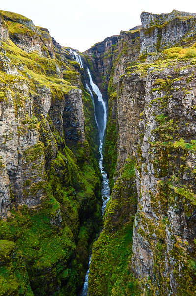 Glymur, Iceland's second highest waterfall