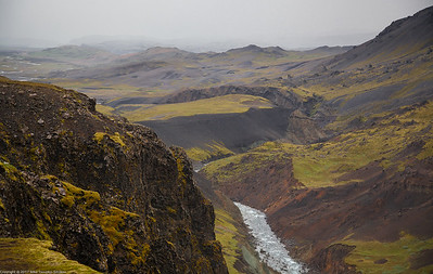 Haifoss to Stong Hike, Iceland