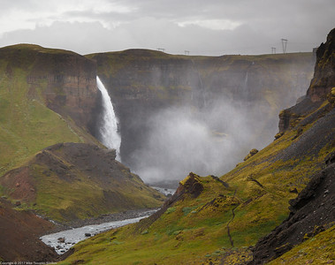 Haifoss Waterfall, iceland