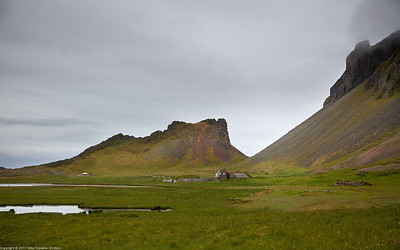 Hiking around Hofn, Iceland