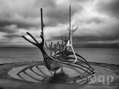 SUN VOYAGER BY Jón Gunnar Árnason BLACK AND WHTIE
