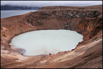 Viti crater (Askja behind)
