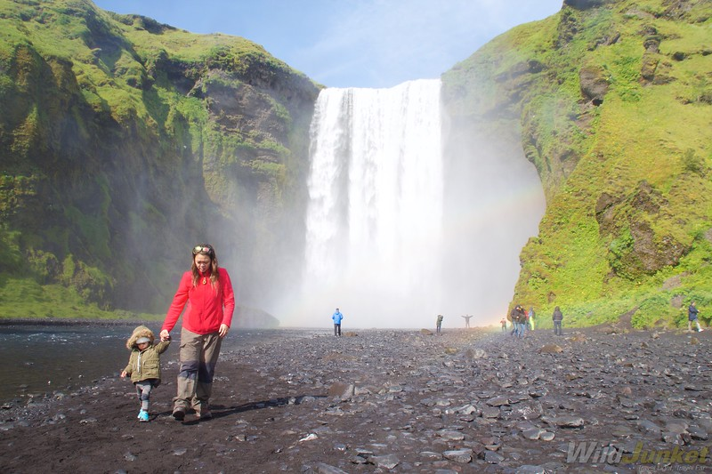 traveling iceland with kids