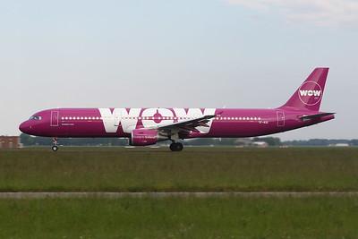 """TF-KID Airbus A321-211 """"Wow Air""""c/n 5681 Amsterdam/EHAM/AMS 21-05-18"""