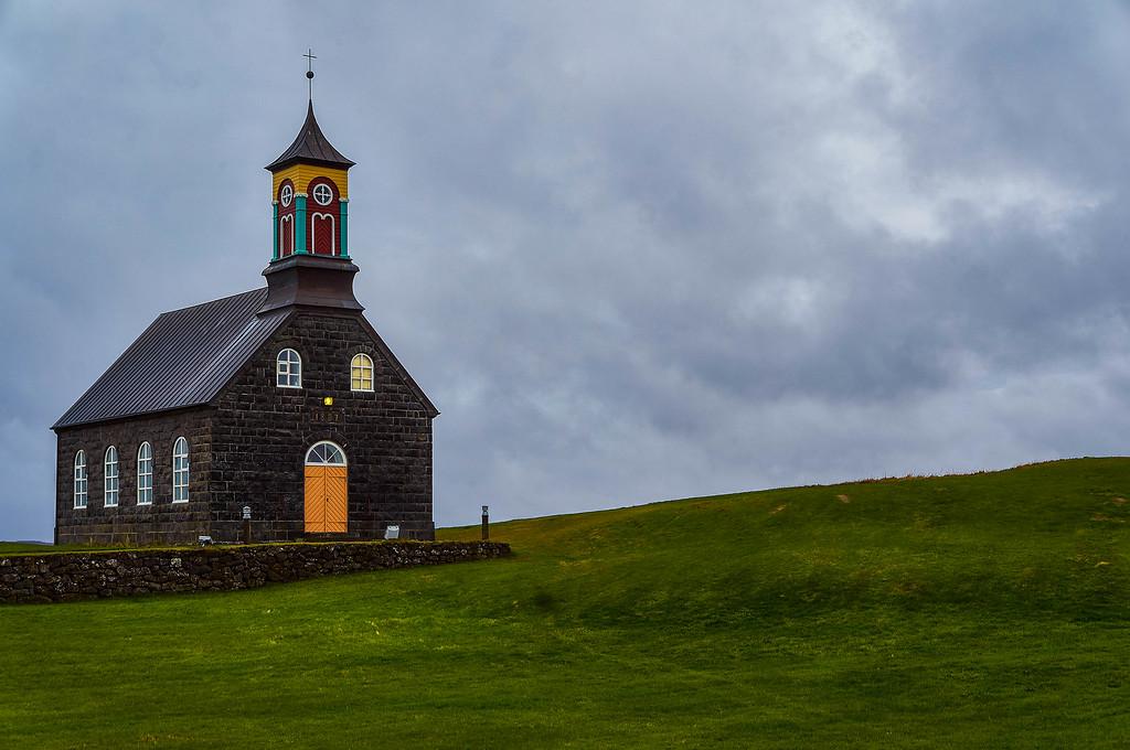 Hvalneskirkja in Iceland