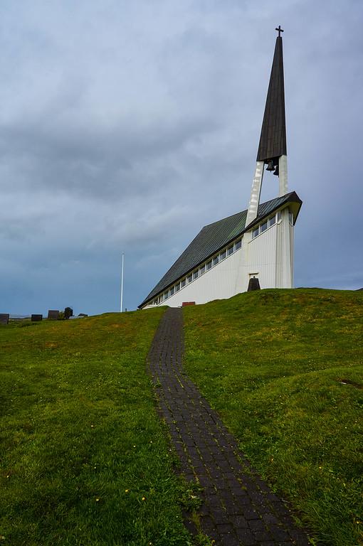 Mosfellskirkja in Iceland