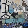 London Police street art in Reykjavik, Iceland