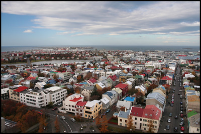 View from Hallgrimskirka