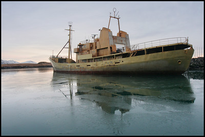 Old Icelandic coastguard ship