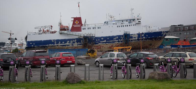 Boats, Bikes, Automobiles (Reykjavik, Iceland)