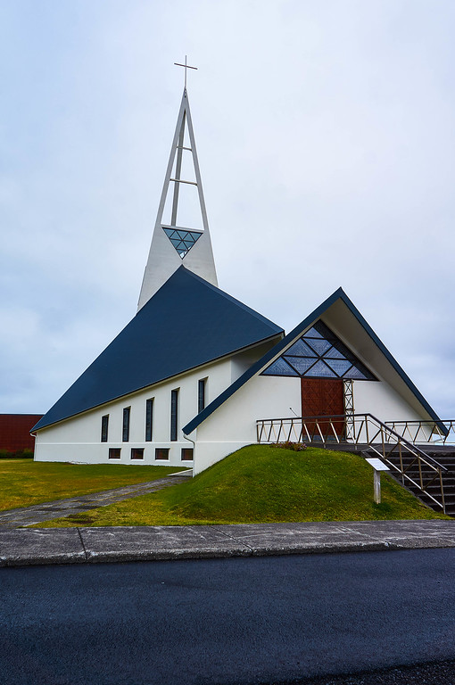Ólafsvíkurkirkja in Iceland