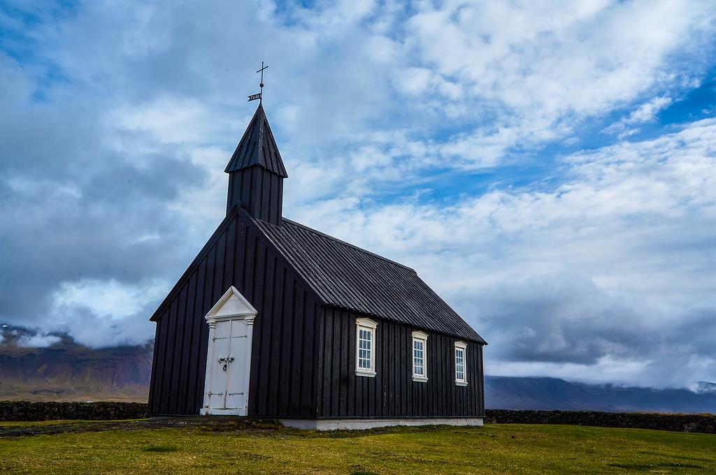 Búðakirkja in Iceland