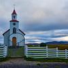 Helgafell Church in Iceland