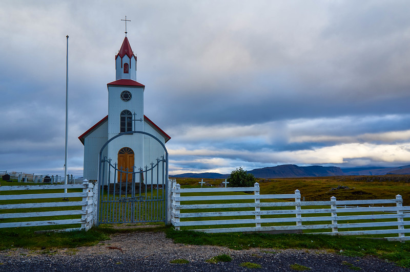 Helgafell Church in Iceland