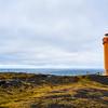 The Skálasnaga lighthouse in Iceland