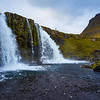 Iconic view in Iceland at Kirkjufellsfoss