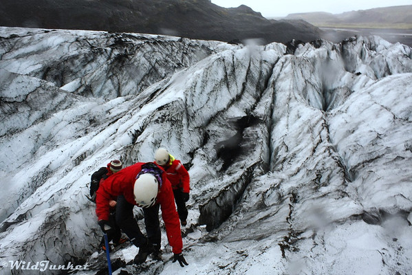 Ice and Spikes: Climbing the Sólheimajökull Glacier in Iceland