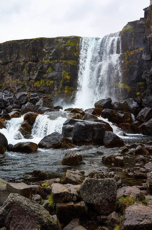 Öxarárfoss in Þingvellir National Park, Iceland