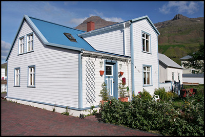 House in Seydisfjordur