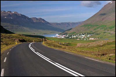 Road to Seydisfjordur