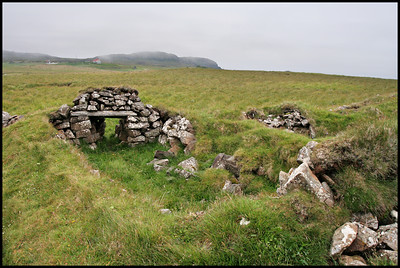 Old sheep pen, Papey