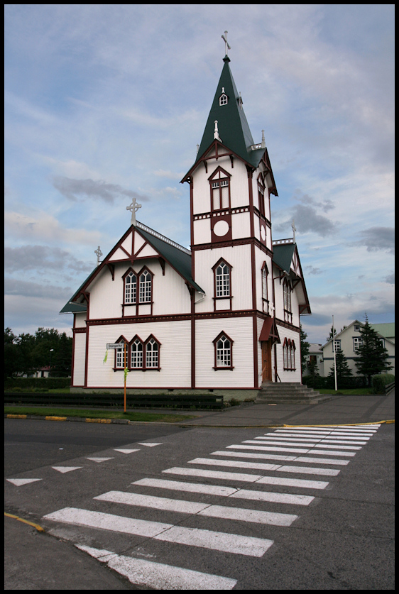 Church in Husavik