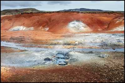 Geothermal fields at Seltún