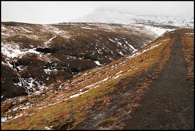 Mt Esja trail