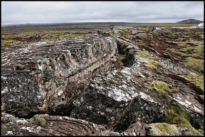 Lava field near Mt Helgafell