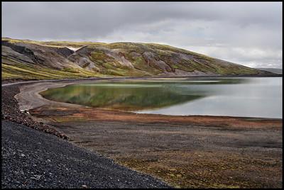 Lake north of Thingvellir