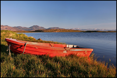Lake near Helgafell