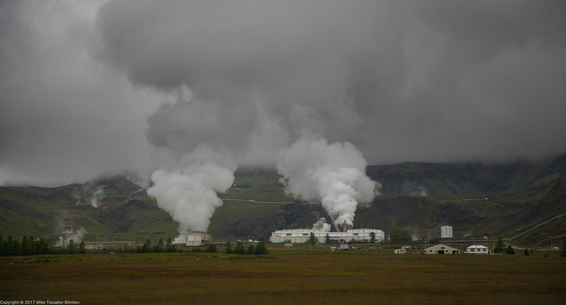 Geothermal Power Plant in Thingvallavatn, Iceland
